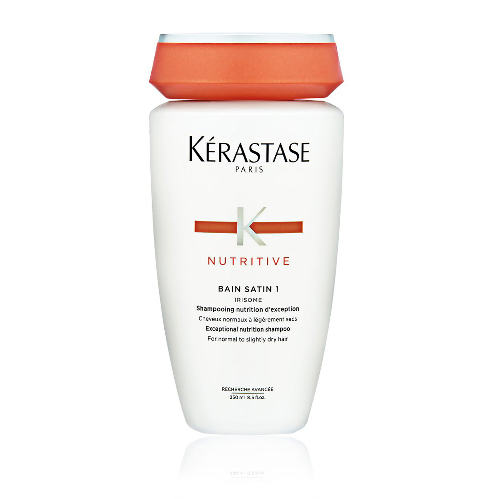 Nutritive Bain Satin 1 Irisome Exceptional Nutrition Shampoo (For Normal To Slightly Dry Hair)