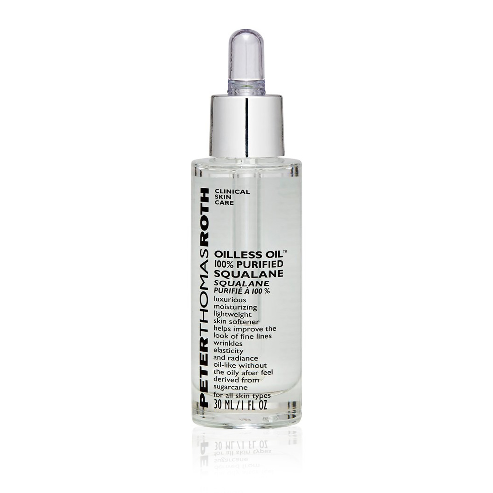 Oilless Oil 100% Purified Squalane (For All Skin Types)